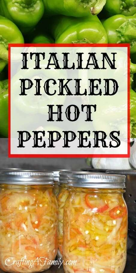 Canned pickled hot peppers - How to can banana peppers from your garden ...