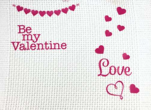 Diy Vinyl Valentines Placemat Crafting A Family